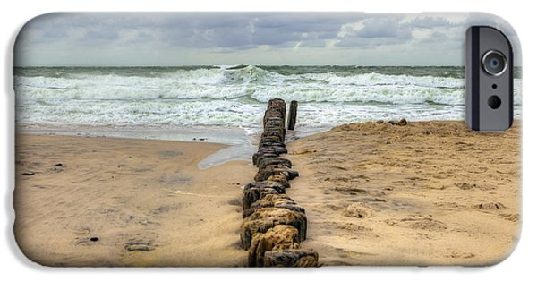 Floods Photographs iPhone Cases - Kampen - Sylt iPhone Case by Joana Kruse