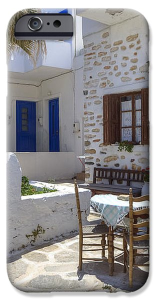 Paros - Cyclades - Greece iPhone Case by Joana Kruse