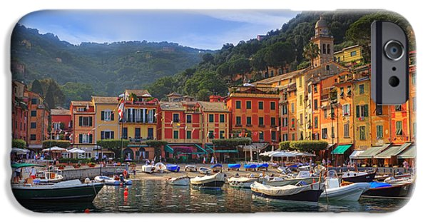 Genoa iPhone Cases - Portofino iPhone Case by Joana Kruse