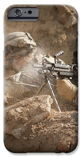 U.s. Army Rangers In Afghanistan Combat iPhone Case by Tom Weber