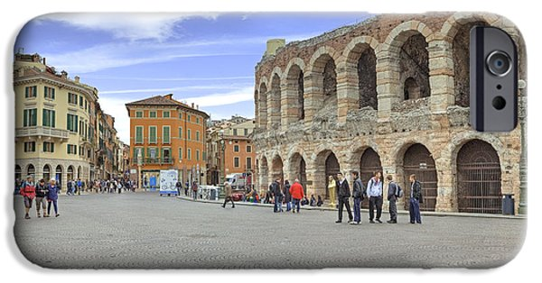 Arena iPhone Cases - Verona iPhone Case by Joana Kruse