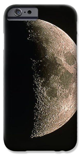 Waxing Crescent Moon iPhone Case by Eckhard Slawik