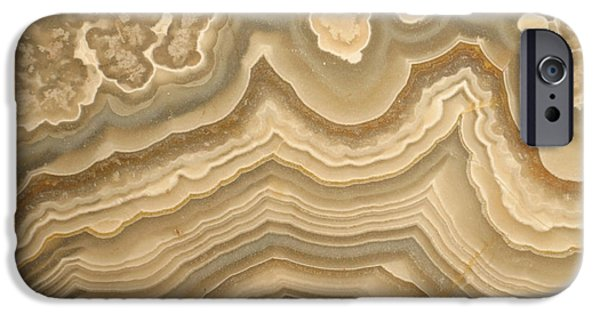 Designs In Nature iPhone Cases - Agate iPhone Case by Ted Kinsman