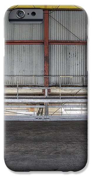 An Empty Industrial Building In Los iPhone Case by Dan Kaufman