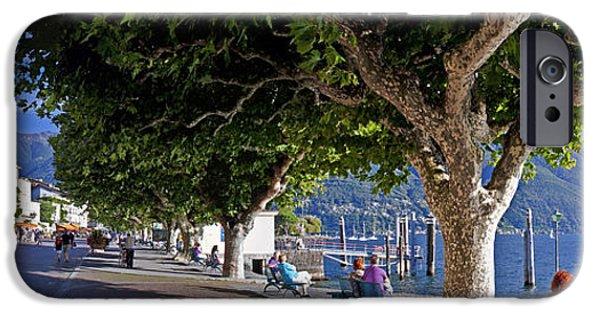 Balcony iPhone Cases - Ascona - Ticino iPhone Case by Joana Kruse