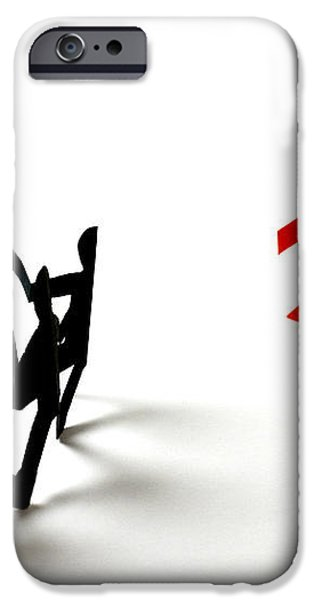 Conceptual Situation iPhone Case by Photo Researchers, Inc.