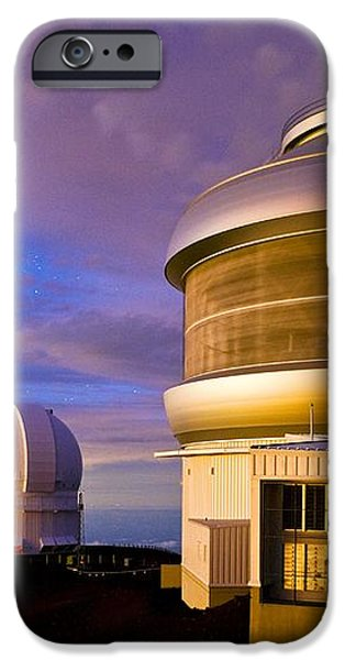 Gemini North Telescope, Hawaii iPhone Case by David Nunuk