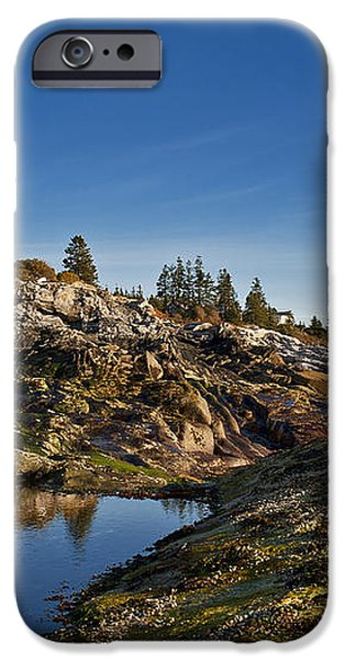 Pemaquid Point Lighthouse iPhone Case by John Greim