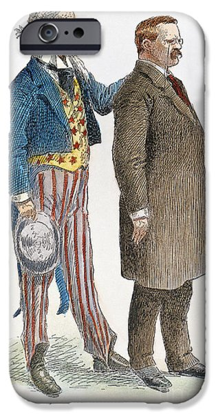 Endorsement iPhone Cases - Presidential Campaign, 1904 iPhone Case by Granger