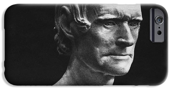 Best Sellers -  - Statue Portrait iPhone Cases - Thomas Jefferson iPhone Case by Granger