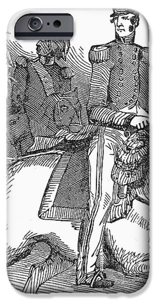 WINFIELD SCOTT (1786-1866) iPhone Case by Granger