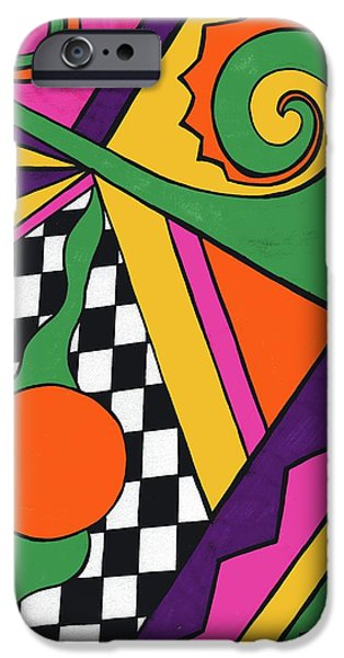 80's Glam iPhone Case by Mandy Shupp