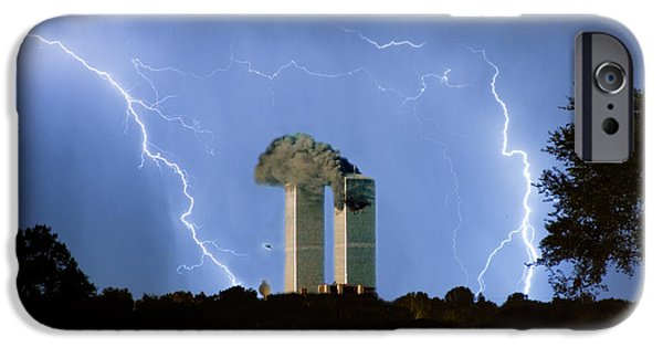 Images Lightning iPhone Cases - 9-11   iPhone Case by James BO  Insogna