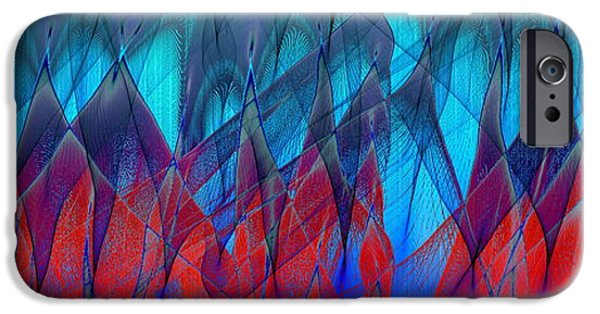 Model iPhone Cases - Electron Flow iPhone Case by Eric Heller