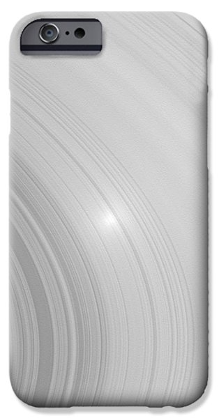 Saturns Rings iPhone Case by NASA / Science Source