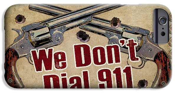 Protection iPhone Cases - 911 iPhone Case by JQ Licensing