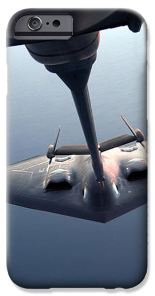A B-2 Spirit Bomber Conducts iPhone Case by Stocktrek Images