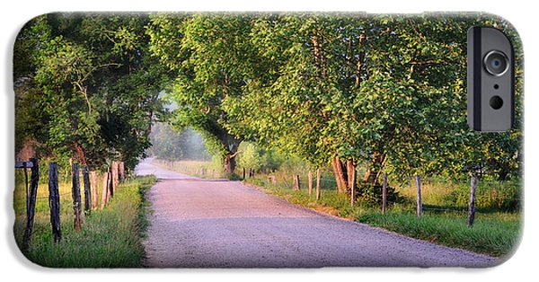 Sparks iPhone Cases - A Beautiful Sparks Lane Morning iPhone Case by Thomas Schoeller