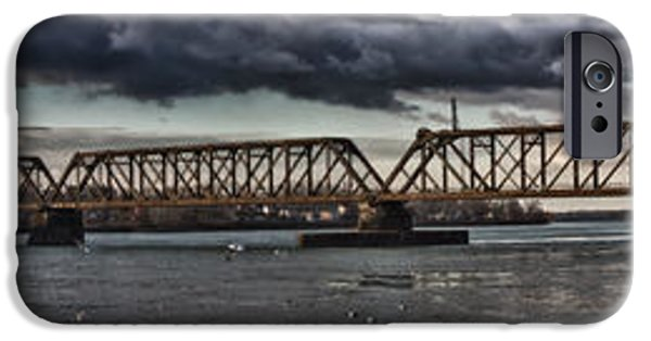 City Scape iPhone Cases - A Danger iPhone Case by Chuck Alaimo