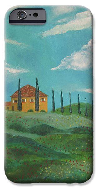 A Day In Tuscany iPhone Case by John Keaton