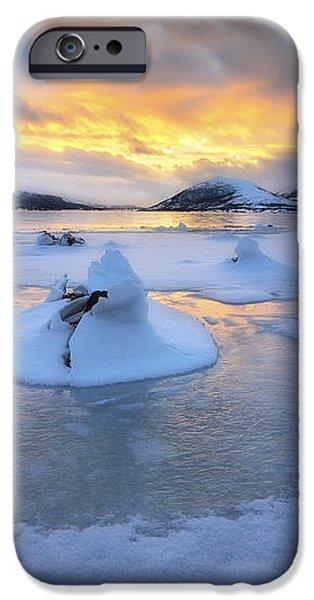 A Frozen Fjord That Is Part iPhone Case by Arild Heitmann