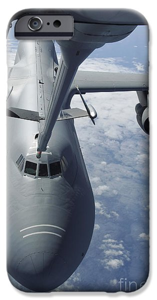 A Kc-10 Extender Prepares To Refuel iPhone Case by Stocktrek Images