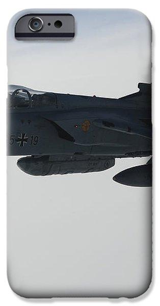 A Luftwaffe Tornado Ids Refueling iPhone Case by Gert Kromhout