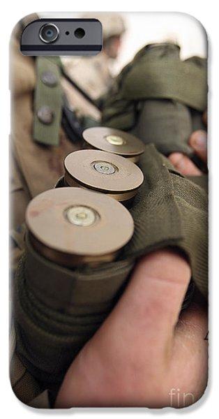 Cradling iPhone Cases - A Marine Cradles Handfuls Of 40 Mm iPhone Case by Stocktrek Images