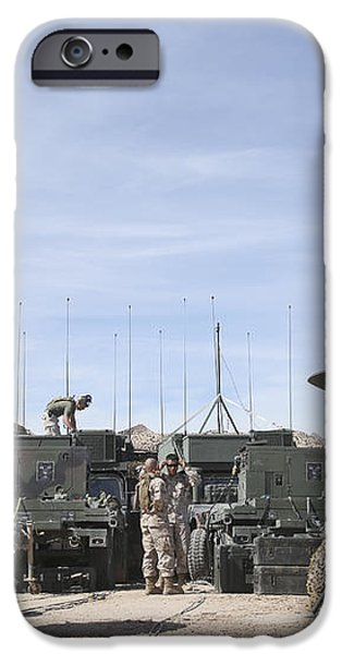 A Marine Unmanned Aerial Vehicle iPhone Case by Stocktrek Images