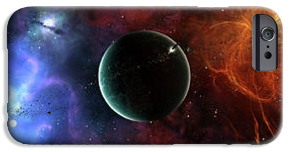 Stellar iPhone Cases - A Massive And Crowded Universe iPhone Case by Brian Christensen