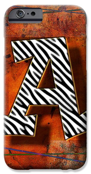 D.c. Pyrography iPhone Cases - A iPhone Case by Mauro Celotti