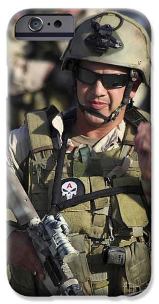 A Military Reserve Navy Seal Gives iPhone Case by Michael Wood