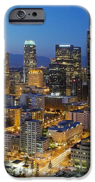 A night in L A iPhone Case by Kelley King