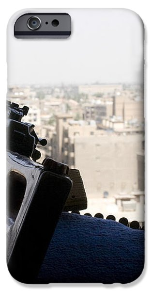 A Pk 7.62mm Machine Gun Nest On Top iPhone Case by Terry Moore