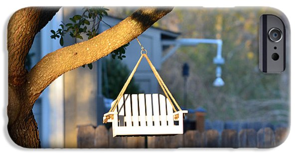 Birdhouse iPhone Cases - A Place to Perch iPhone Case by Nikki Marie Smith