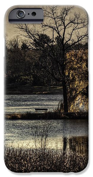 A Place To Think iPhone Case by Thomas Young