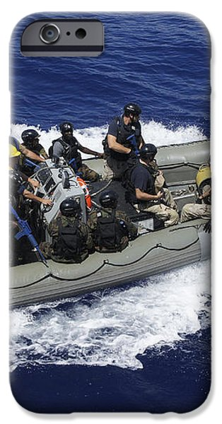 A Rigid-hull Inflatable Boat Carrying iPhone Case by Stocktrek Images