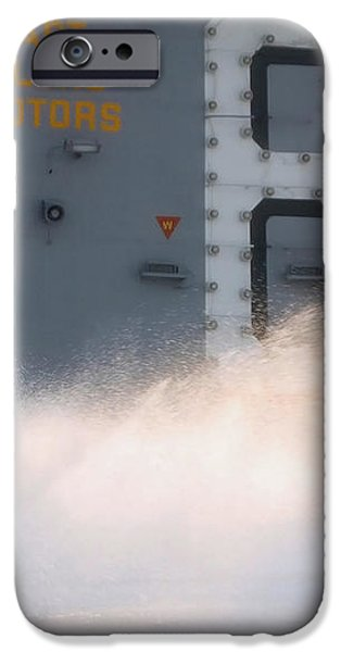 A Sailor Collects Samples Of Aqueous iPhone Case by Stocktrek Images