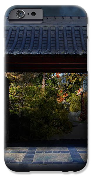 A Samurai.s Menagerie . 7D12779 iPhone Case by Wingsdomain Art and Photography