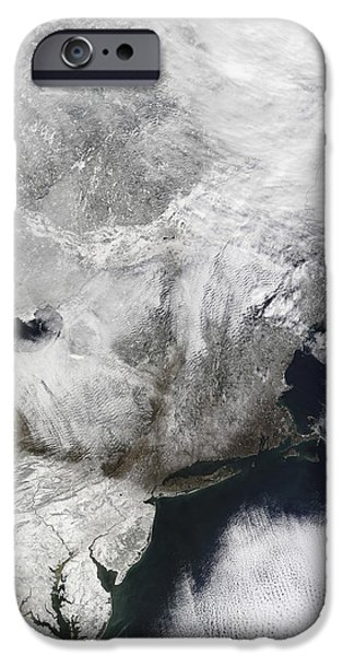 A Severe Winter Storm iPhone Case by Stocktrek Images