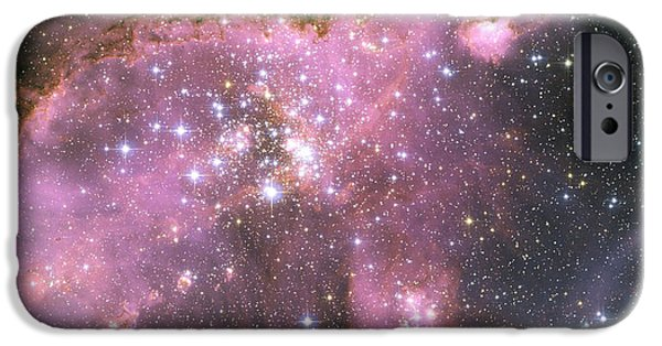 Forming iPhone Cases - A Star-forming Region In The Small iPhone Case by Stocktrek Images