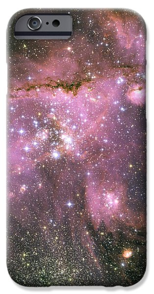 A Star-forming Region In The Small iPhone Case by Stocktrek Images