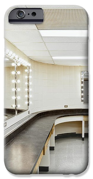A Theater Dressing Room iPhone Case by Greg Stechishin