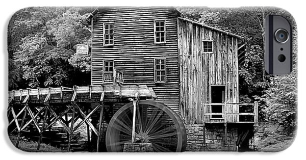 Grist Mill iPhone Cases - A Touch Of Yellow iPhone Case by Adam Jewell