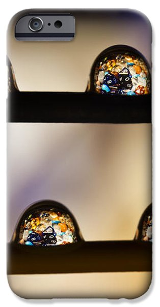 A Treasure Of Dice And Gems iPhone Case by Marc Garrido