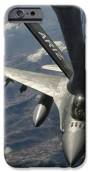 A U.s. Air Force F-16c Block 50 iPhone Case by Giovanni Colla