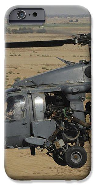 A U.s. Air Force Hh-60 Pavehawk Flies iPhone Case by Stocktrek Images