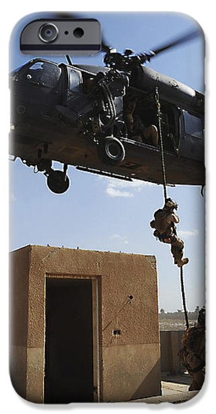 A U.s. Air Force Pararescuemen Fast iPhone Case by Stocktrek Images