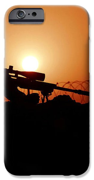 A U.s. Special Forces Soldier Armed iPhone Case by Stocktrek Images