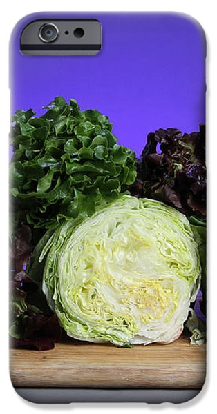 A Variety Of Lettuce iPhone Case by Photo Researchers, Inc.